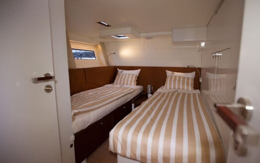 Sailing Yacht Bliss 2 twin cabin