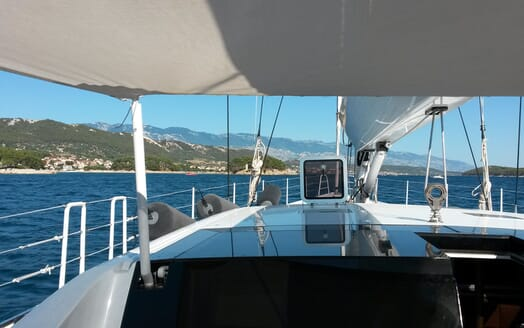 Sailing Yacht BLISS 2 Bow