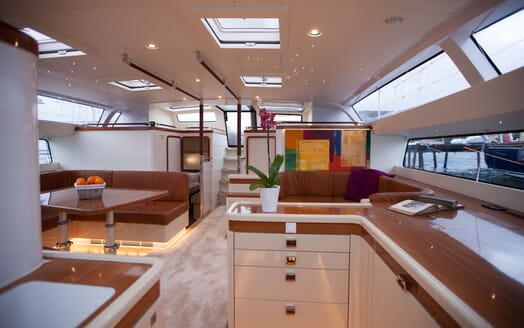 Sailing Yacht Bliss 2 galley