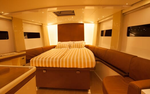 Sailing Yacht Bliss 2 guest cabin