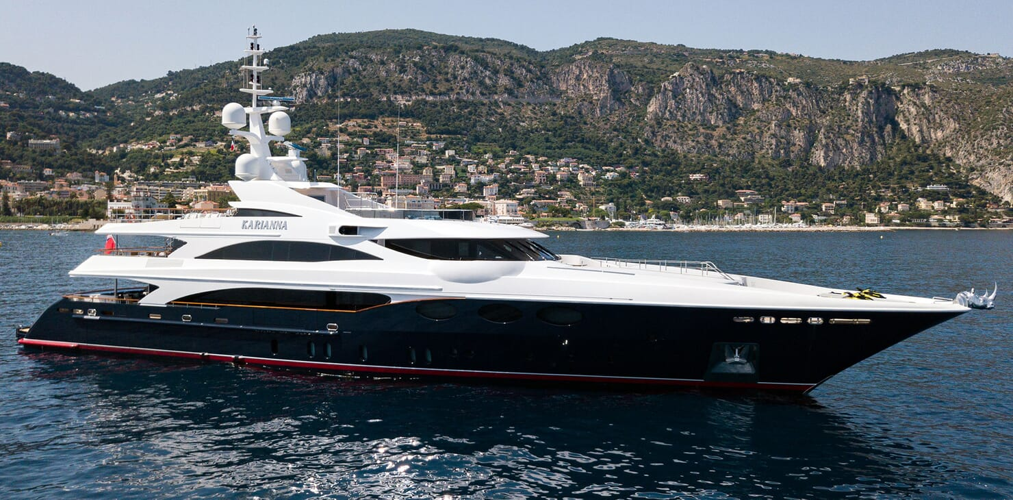 Motor Yacht KARIANNA Profile