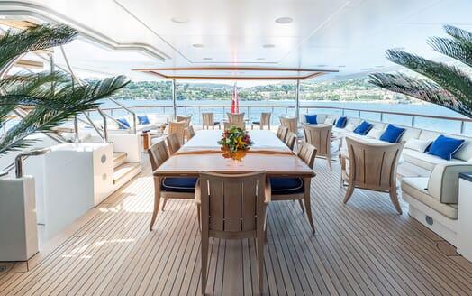Motor Yacht KARIANNA Main Aft Deck