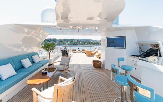 Motor Yacht KARIANNA Sun Deck