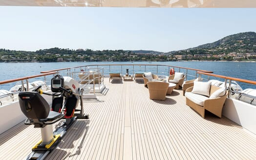 Motor Yacht KARIANNA Sun Deck Aft
