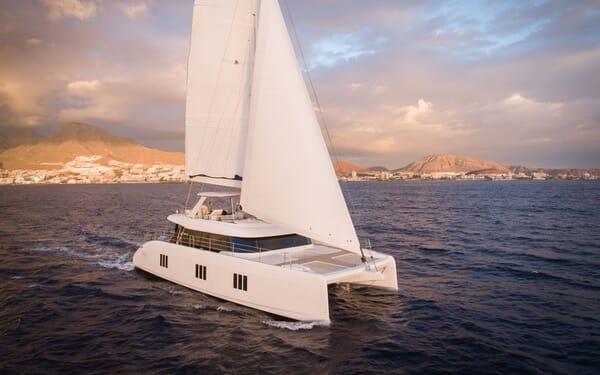 Sailing Yacht SAMADHI Underway