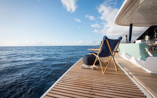 Sailing Yacht SAMADHI Fold Down Deck
