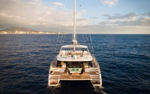 Sailing Yacht SAMADHI Aft View