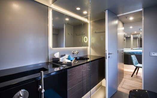 Sailing Yacht SAMADHI  Master Bathroom