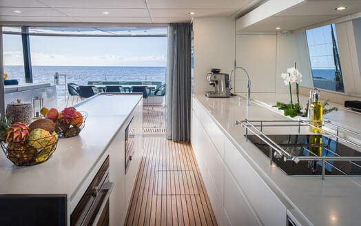 Sailing Yacht SAMADHI Galley