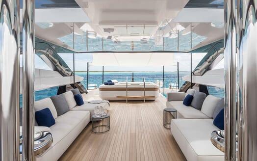 Motor Yacht VISTA BLUE Sun Deck