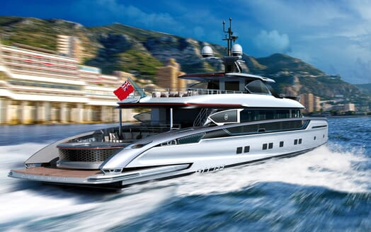 Motor Yacht Dynamiq 135 Running