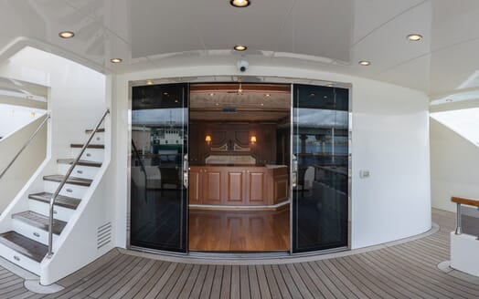 Motor Yacht ELISEA NOVA Aft Deck