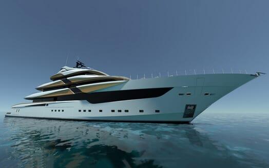 Motor Yacht Galileo bow