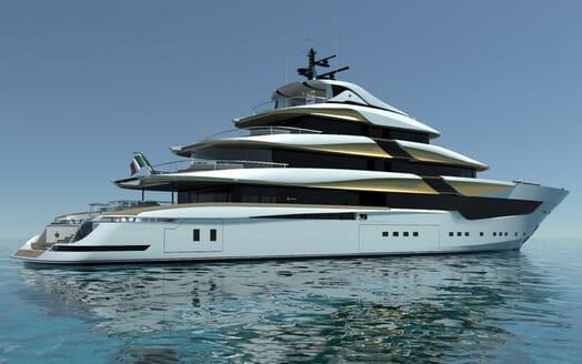 Motor Yacht Galileo aft