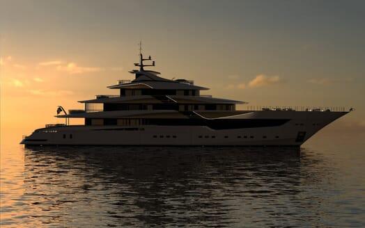 Motor Yacht Galileo model