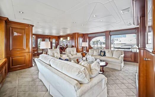 Motor Yacht ELISA Upper Saloon