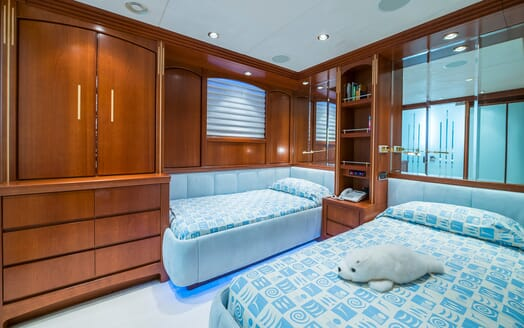 Motor Yacht Andrea Guest Twin Stateroom