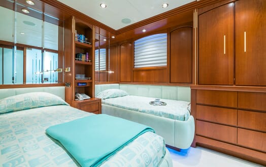 Motor Yacht Andrea Twin Stateroom