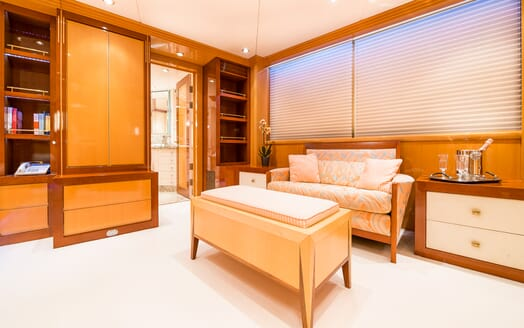 Motor Yacht Andrea Master Stateroom Seating