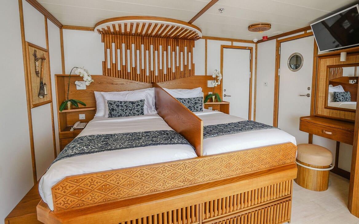 Motor Yacht KUDANIL Twin Guest Stateroom