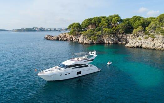 Motor Yacht Mio Barco Anchored