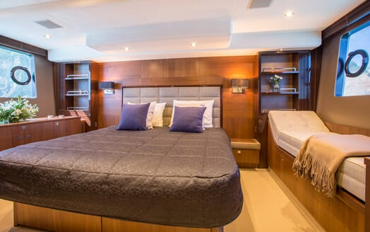 Motor Yacht Mio Barco Master Stateroom