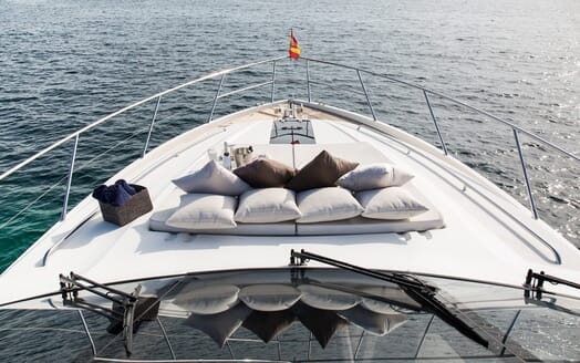 Motor Yacht Mio Barco Bow Sundeck