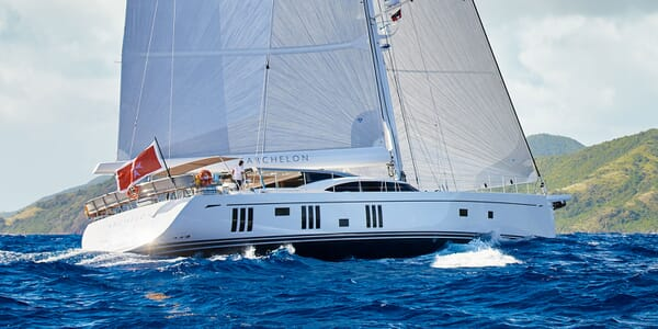 Sailing Yacht ARCHELON Profile Underway