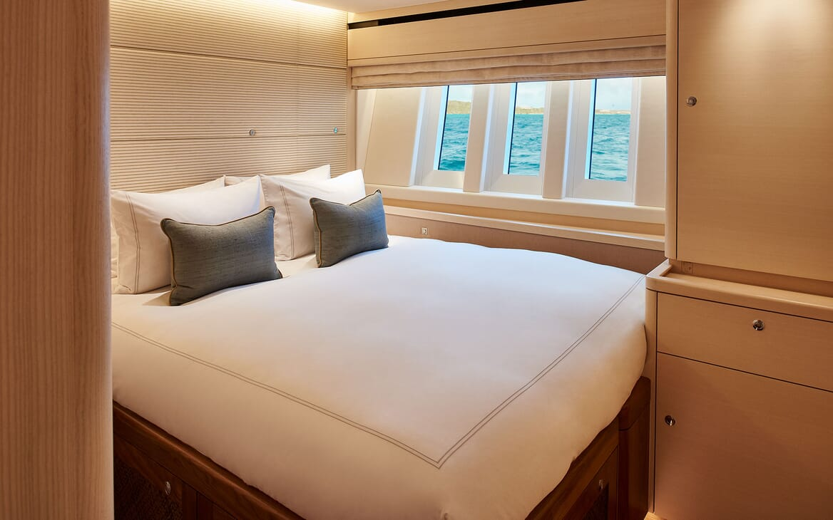 Sailing Yacht ARCHELON Double Guest Stateroom