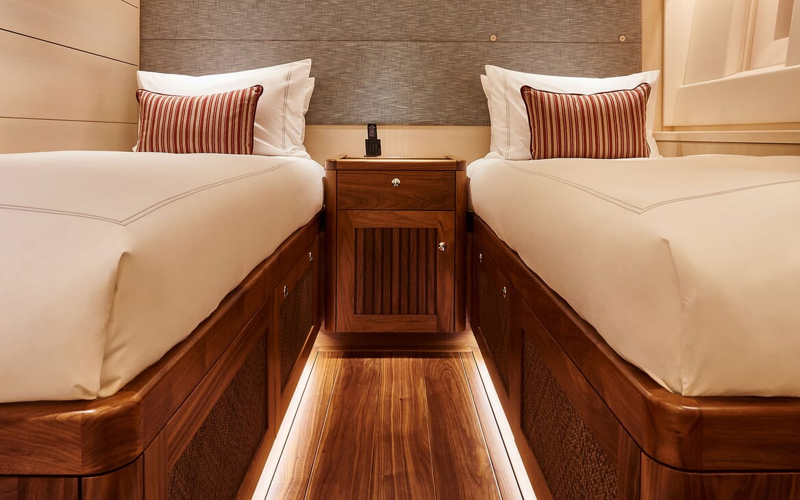Sailing Yacht ARCHELON Guest Twin Stateroom