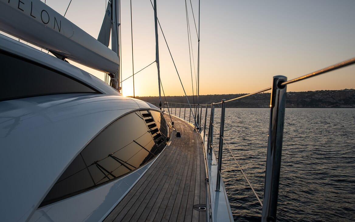 Sailing Yacht ARCHELON On Deck Gym