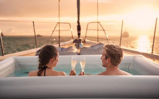 Sailing Yacht ARCHELON Forward View