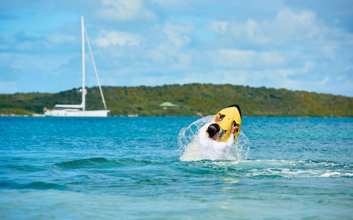 Sailing Yacht ARCHELON Aft View