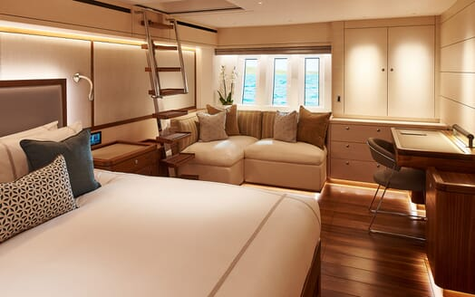 Sailing Yacht ARCHELON Master Stateroom