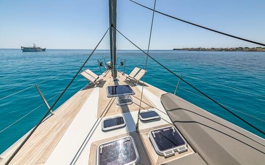 Sailing Yacht LH2 bow