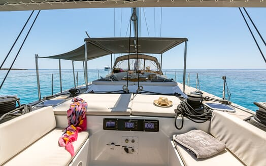 Sailing Yacht LH2 foredeck