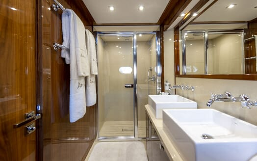 Motor Yacht ANYA Guest Double Stateroom