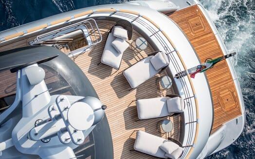 Motor Yacht Dynamiq GTT 115 Aerial Sundeck