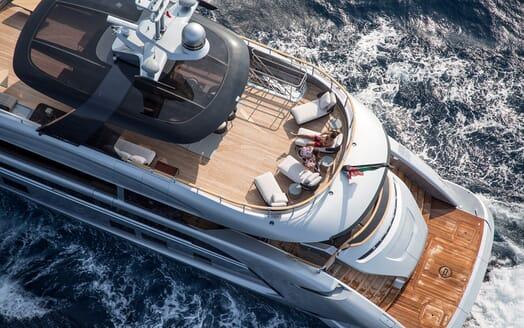 Motor Yacht Dynamiq GTT 115 Aerial Sundeck 2