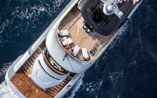 Motor Yacht Dynamiq GTT 115 Aerial Sundeck 3