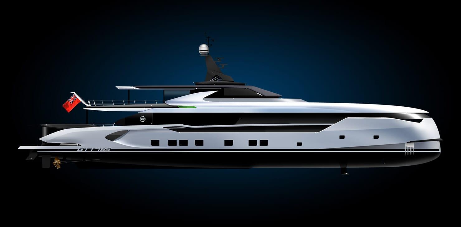 Motor Yacht Dynamiq GTT 165 Profile