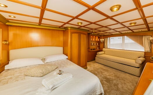 Motor Yacht TO JE TO Second Guest Double Stateroom