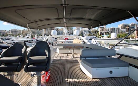 Motor Yacht MOONRAKER Sun Deck