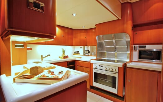 Sailing yacht SEA BREEZE kitchen