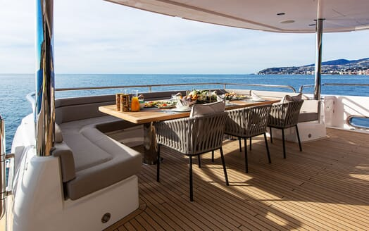 Motor Yacht Mr. K Iriston Dining Table