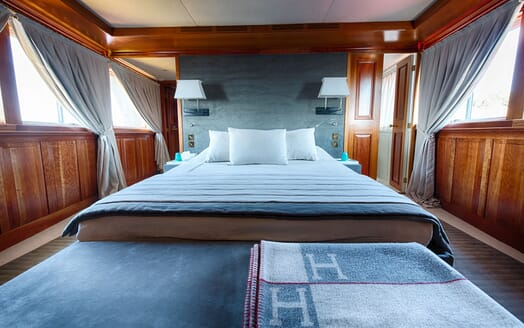 Motor Yacht WALANKA Guest Double Stateroom