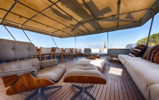 Motor Yacht WALANKA Sun Deck