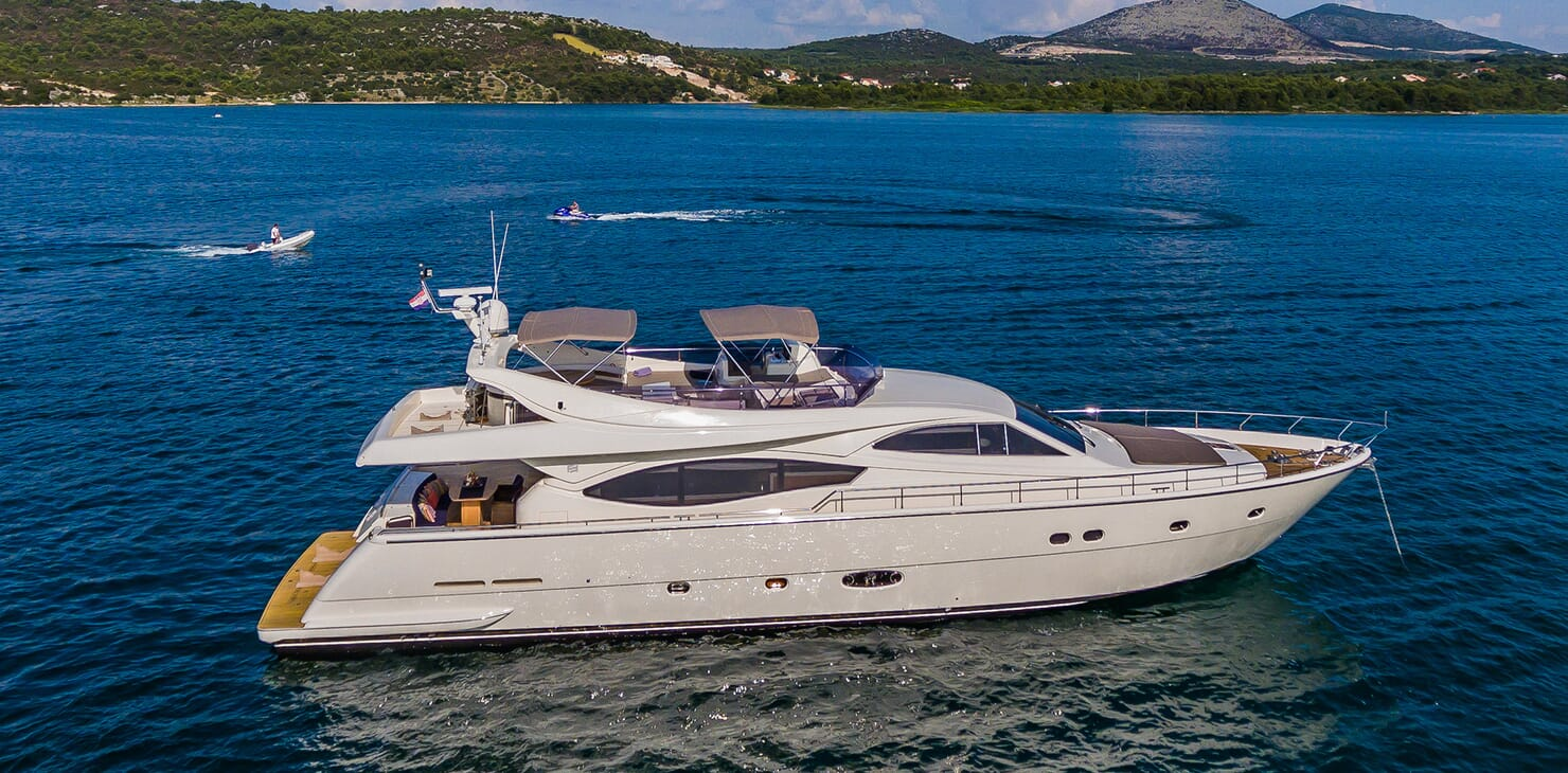 Motor Yacht Quo Vadis I Side on Profile