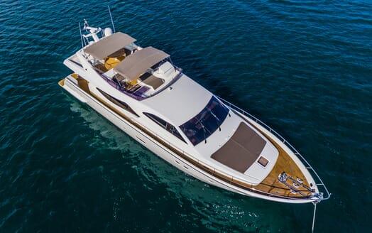 Motor Yacht Quo Vadis I Aerial Profile