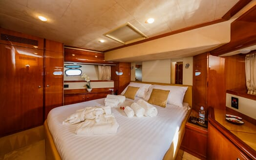 Motor Yacht Quo Vadis I Guest Stateroom